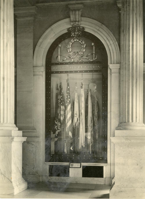 Battle Flags, State House, Providence