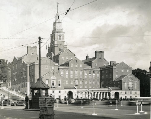 Providence County Courthouse. Dedicated in 1933