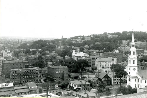 Providence, from roof of Rhode Island Hospital Trust