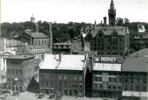 Providence, looking east
