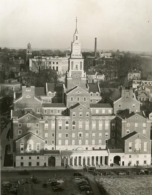 Providence County Court House, View from Turks Head Club