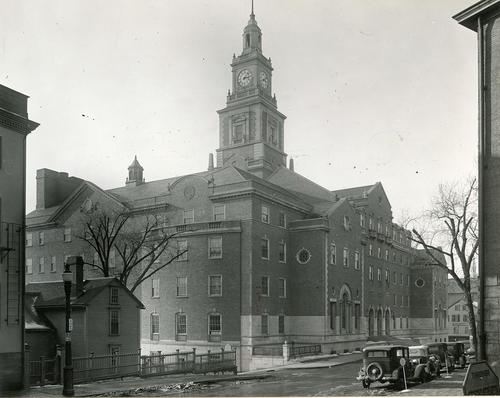Providence County Court House from Benefit Street