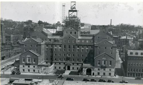 Providence County Courthouse under construction