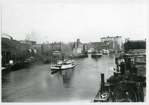 Providence River and excursion boats