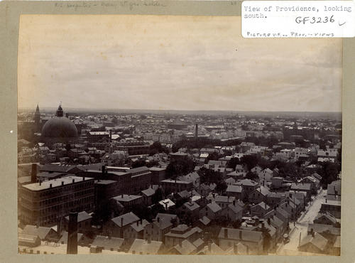 View of Providence looking south