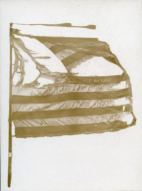 Battle Flag, 2nd Rhode Island Volunteers