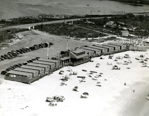 Hazard's Beach Bath Houses, Newport