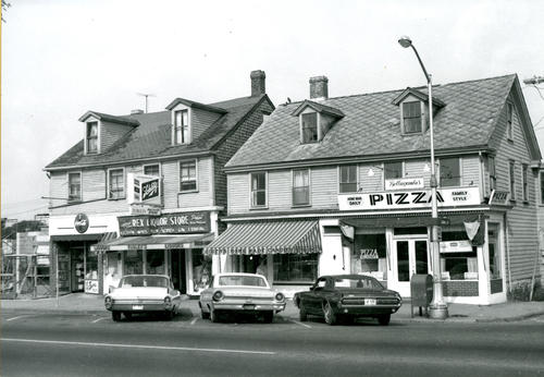 Corner of Broadway & Oak Street, Newport