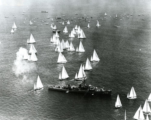 Participating boats in Bermuda Yacht Races