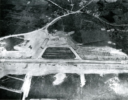 Aerial view of Block Island State Airport