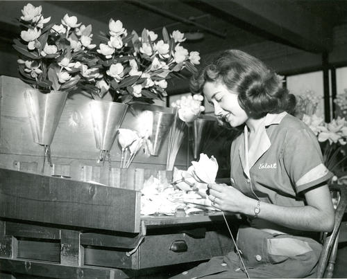 California Artificial Flower Co. employee