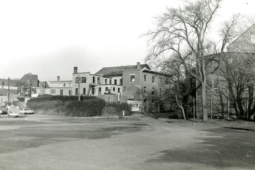 Looking Northeast -- Showing curran's Lunch Room