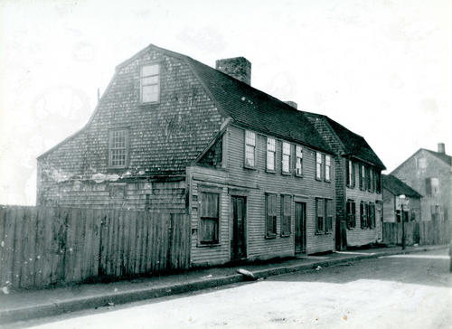 Home of Mrs. Bates; Bridge Street east of RR Track