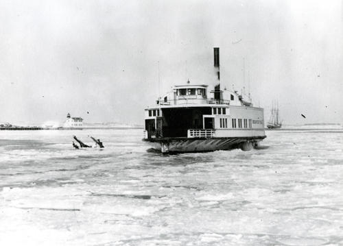 "Jamestown Ferry ""Beaver Tail"", Newport"