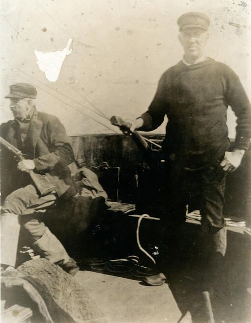 Harbor Master Tom Shea and Brother