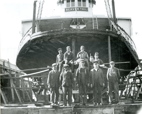 Crew of Beaver Tail (Ferry); Newport Shipyard