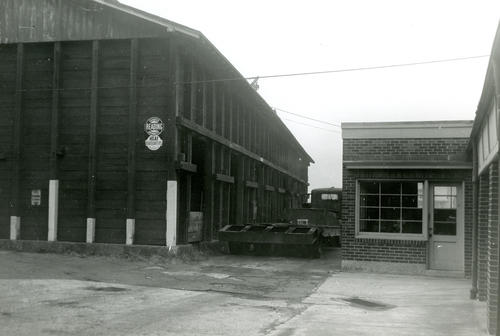 Sullivan's Coal Yard from the East (North side)