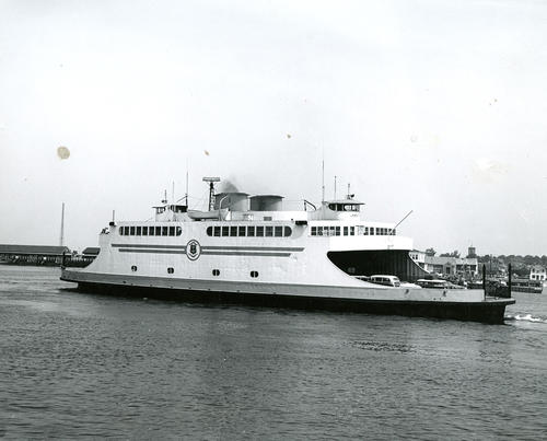 Ferryboat in Newport Harbor