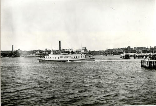 Conanicut (Ferry) Leaving Newport