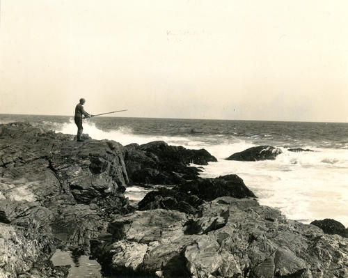 Fishing from Rocks - Ocean Drive