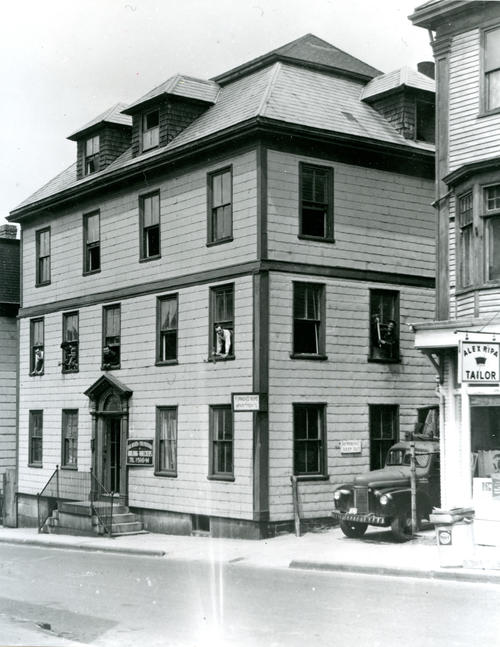 Bancroft House, Mill Street; North Side