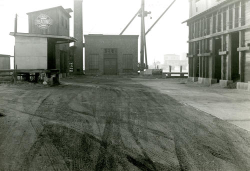 Sullivan's Coal Yard from the East; Coal Pockets, etc