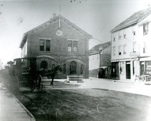 Police Station, Market Square, Newport