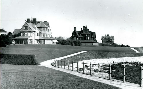 Cliff Walk, Newport; Pierson, Drexel, Gardner Houses