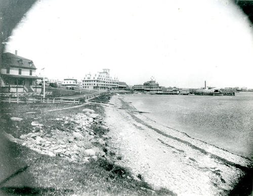 Waterfront Hotels; Conanicut Avenue, north from present Union Street