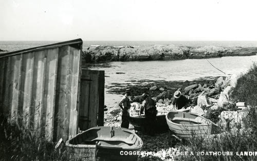 Coggeshall Ledge & Boathouse Landing, Ocean Drive; Newport