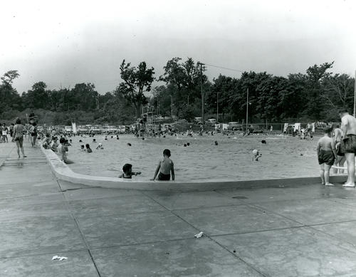 Rocky Point Park swimming pool