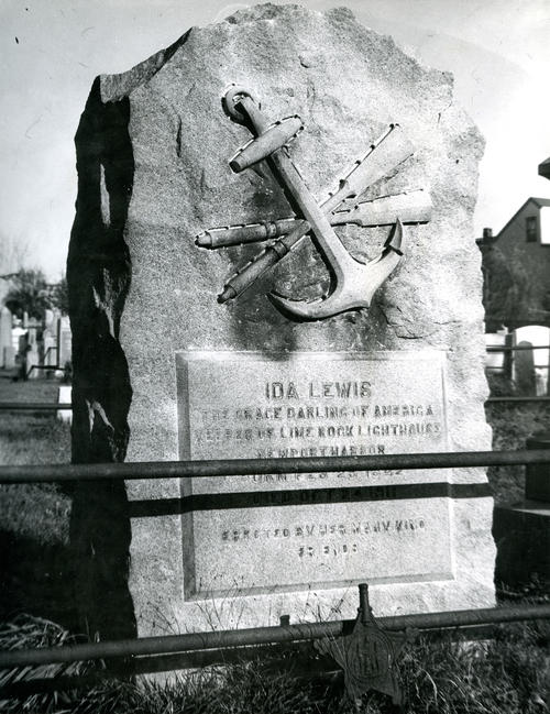 Lewis, Ida, Memorial for Heroine of Sea