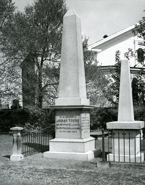 Monument Erected in Memory of Judah Touro.