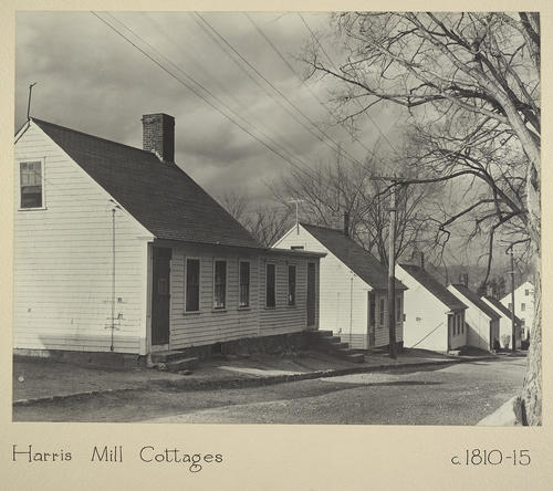 Harris Mill Cottages c. 1810-15