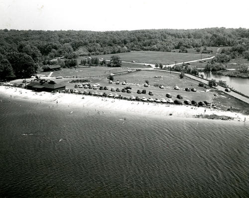 Aerial View of Lincoln Woods State Park