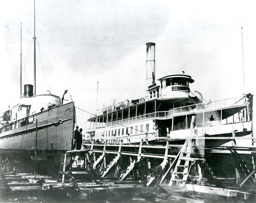 SS General in Newport Shipyard
