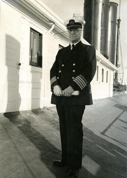 Steamship Officer