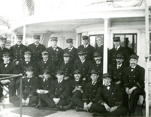 Officers of SS Rhode Island