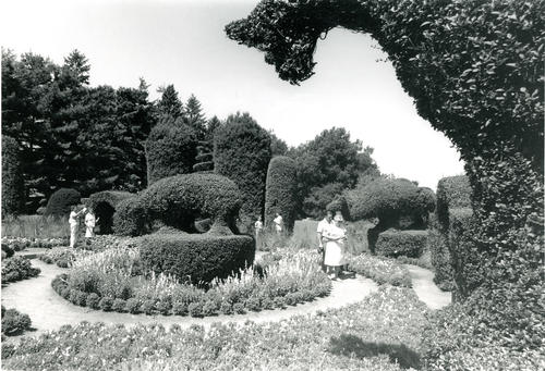 View of the Topiary Gardens