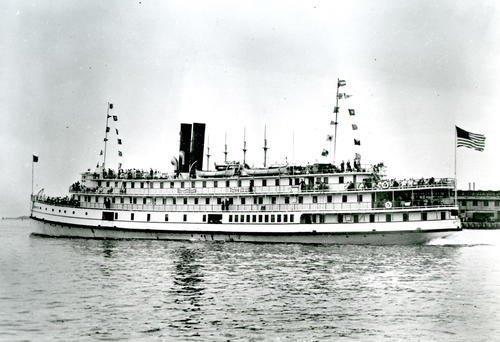 SS Tennessee in Providence Harbor