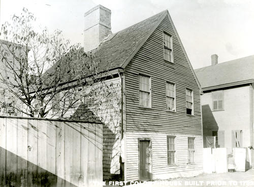 First Colony House - Moved to Prison Lane
