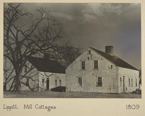 Lippitt. Mill Cottages 1809