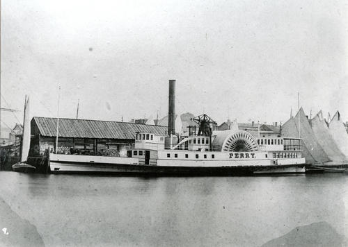SS Perry - Only Known Photo