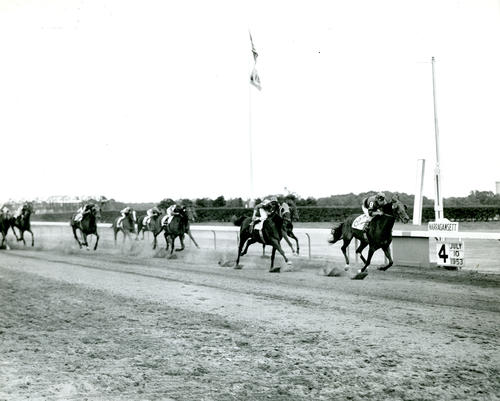 Horse Racing at Narragansett Race Track