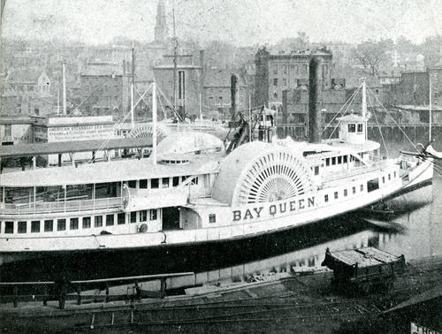 SS Bay Queen, Providence Dock