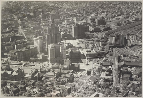 Providence, Post Office Square, looking west from