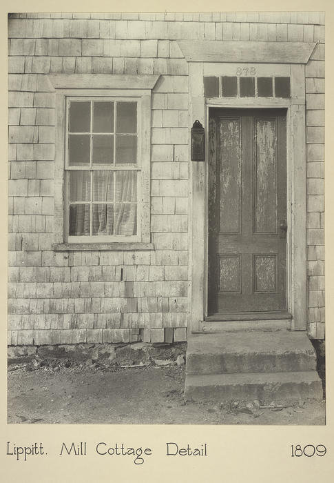 Lippitt. Mill Cottage Detail 1809
