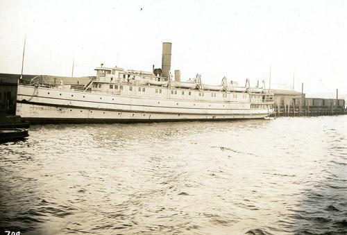 Naugatuck (Steamer) at Fox Point Wharf