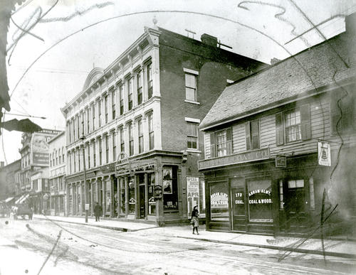Thames Street, West Side; Opposite Mary Street, Newport