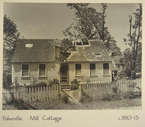 Fiskeville. Mill Cottage c. 1810-15